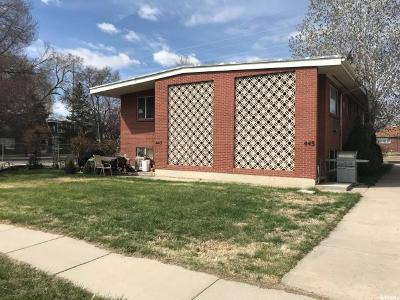 Salt Lake City UT Multi Family Home For Sale: $475,000