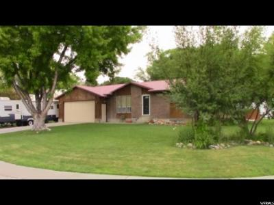 Single Family Home For Sale: 530 W Ferron Creek Dr