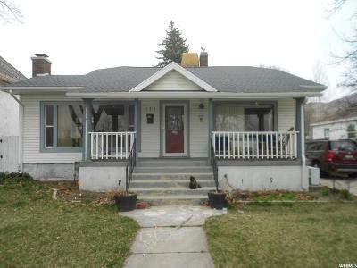 Brigham City Single Family Home For Sale: 163 S 100 E