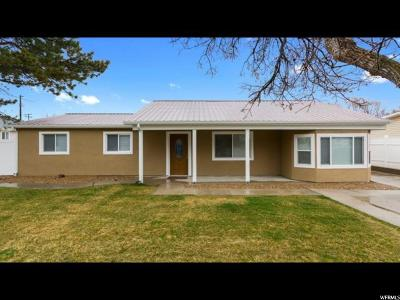 Riverton Single Family Home For Sale: 1802 W 13235 St S