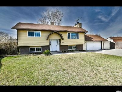 West Jordan Single Family Home For Sale: 3892 Stardust Cir