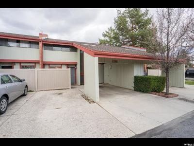 Provo Townhouse For Sale: 2198 N Canyon Rd E