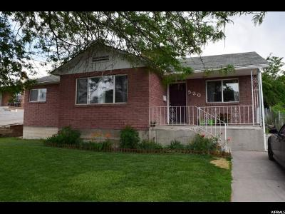 Price UT Single Family Home For Sale: $140,000
