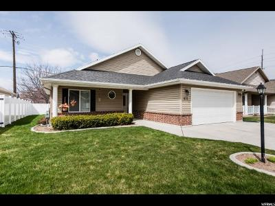 Logan Single Family Home For Sale: 971 N 375 W