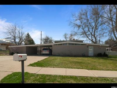 Layton Single Family Home For Sale: 147 N Francis Ave W