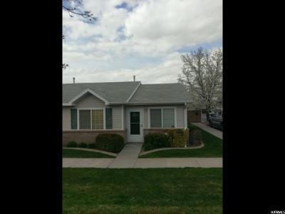 Salt Lake City UT Condo For Sale: $185,000