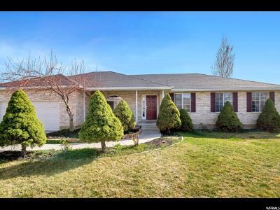 American Fork Single Family Home For Sale: 28 E 1400 N
