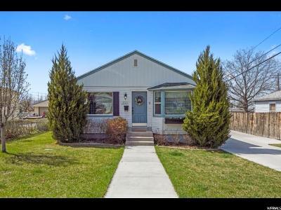 Salt Lake City Single Family Home For Sale: 3322 S 3040 E