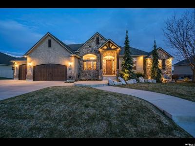 Kaysville Single Family Home For Sale: 977 W Mill Shadow Dr