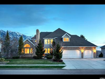 Cottonwood Heights UT Single Family Home For Sale: $998,500