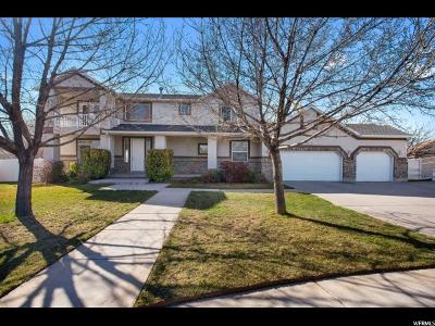 South Jordan Single Family Home For Sale: 9681 Cindy Ct