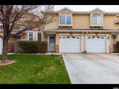 West Jordan Townhouse For Sale: 6855 S Florentine Way W