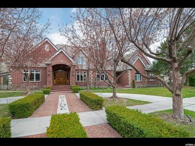Provo Single Family Home Under Contract: 4322 N Vintage Dr W