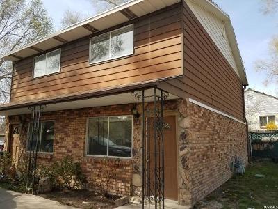 Salt Lake City Multi Family Home For Sale: 3158 McClelland St