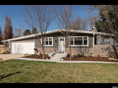 Holladay Single Family Home For Sale: 5578 Woodcrest Dr.
