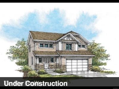 Eagle Mountain Single Family Home For Sale: 3396 E Whitewater #233