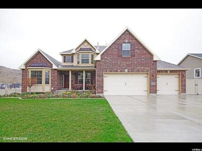 Herriman Single Family Home For Sale: 5498 W Pulley Ln