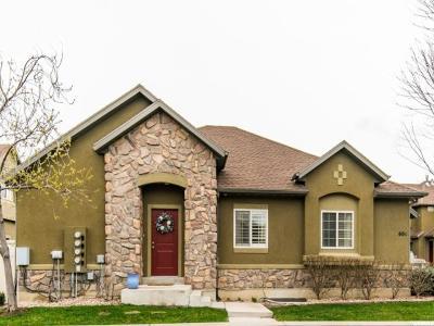 Draper Townhouse For Sale: 604 E Wyngate Pointe Ln S