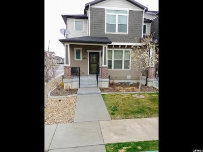 West Valley City Townhouse For Sale: 5291 W Barnsbury Ln S