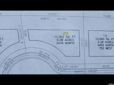 Lehi Residential Lots & Land For Sale: 3476 N 775 W
