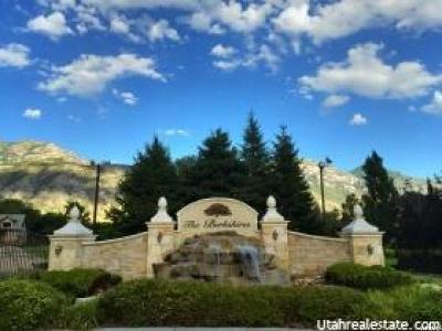 Orem Residential Lots & Land For Sale: 1520 S 1080 E