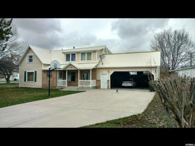 Preston Single Family Home For Sale: 109 E 100 N