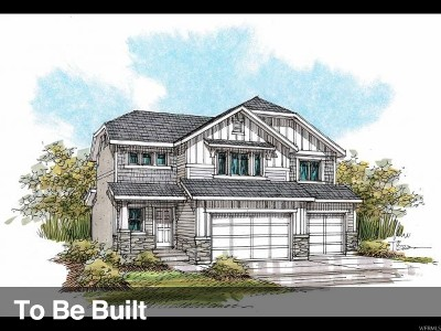 Eagle Mountain Single Family Home For Sale: 9686 N Red Bridge St #227
