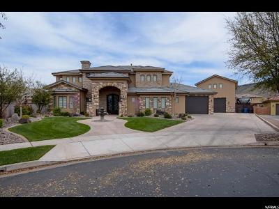 St. George Single Family Home For Sale: 1602 W Chateau Cir