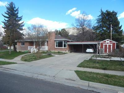 Logan Single Family Home For Sale: 838 N Hillcrest Ave