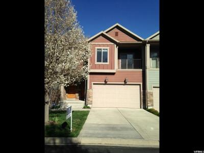 Holladay Townhouse For Sale: 4811 S Brooks Way