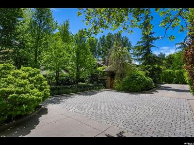 Holladay Single Family Home For Sale: 2586 E Walker Ln