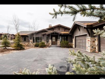 Park City Single Family Home For Sale: 2470 Saddlehorn Dr