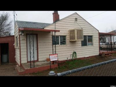 East Carbon Single Family Home For Sale: 122 N 5th W