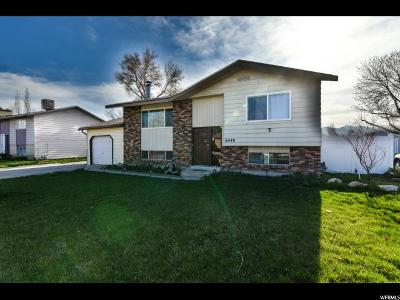 West Jordan Single Family Home For Sale: 6448 S Owensboro Dr