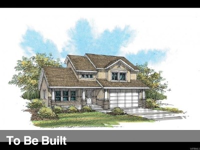 Eagle Mountain Single Family Home For Sale: 3213 E Spring Bridge St #320