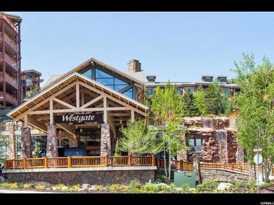 Park City Condo For Sale: 3000 Canyon Resort Dr #4409