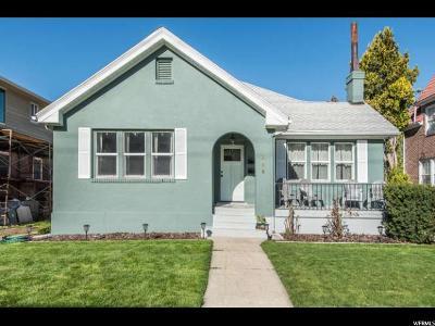 Salt Lake City Multi Family Home For Sale: 266 S 1100 E