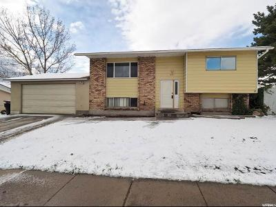 Salt Lake City Single Family Home For Sale: 5521 Trident Dr