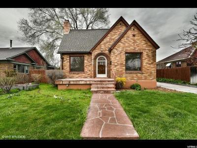 Salt Lake City Single Family Home For Sale: 569 E Cleveland Ave S