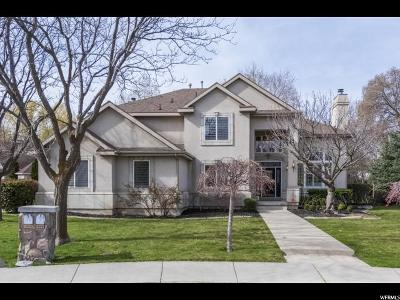 Cottonwood Heights UT Single Family Home For Sale: $828,500