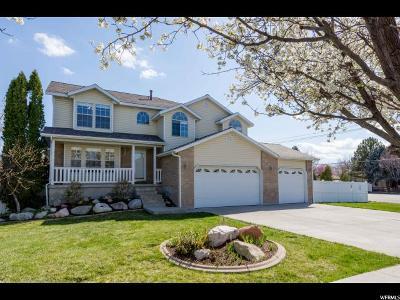 South Jordan Single Family Home For Sale: 3983 W Skye Dr
