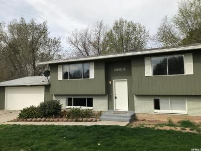 Weber County Single Family Home For Sale: 6003 S 2550 W