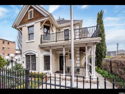 Salt Lake City Single Family Home For Sale: 327 S Denver St