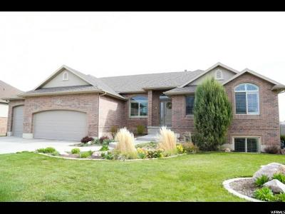 Layton Single Family Home For Sale: 3105 W 350 N