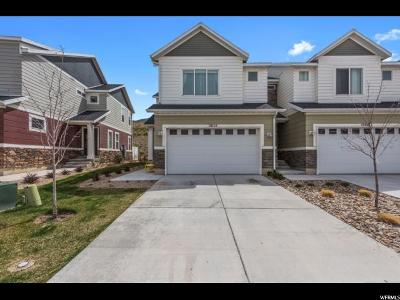 Bluffdale Townhouse For Sale: 15115 Gallant Dr