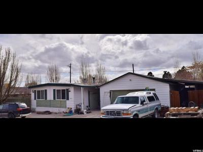 Carbon County Single Family Home For Sale: 2101 N 1200 W