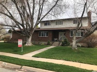 Kaysville Single Family Home For Sale: 270 N 900 E