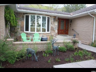 Provo Single Family Home For Sale: 4702 N Hillside Dr E