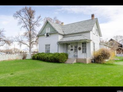 Cache County Single Family Home For Sale: 280 N Main