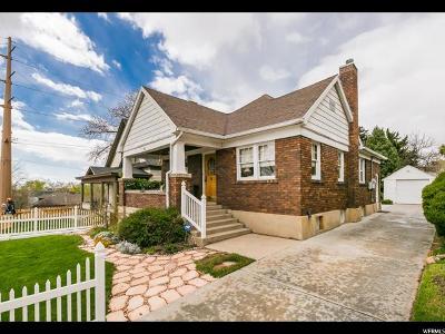 Salt Lake City Single Family Home For Sale: 1011 E 800 S